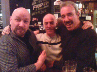 Colin, Stan and Dave, taken at a reunion at The Gun Tavern in Croydon.